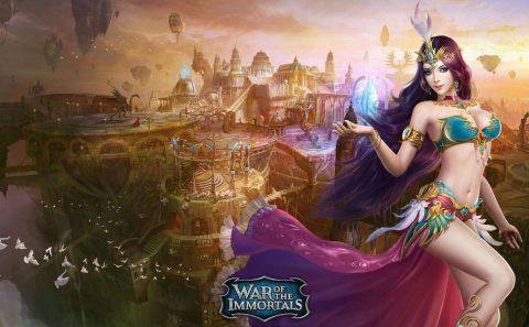 slika za pozadinu War of the Immortals