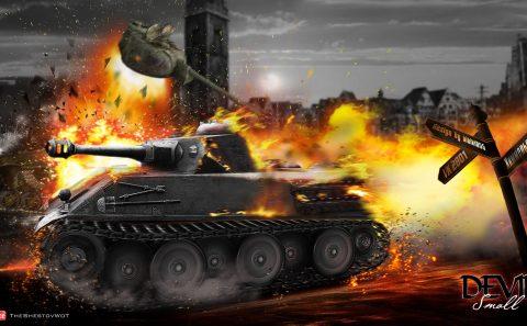 slika za pozadinu world of tanks eksplozija
