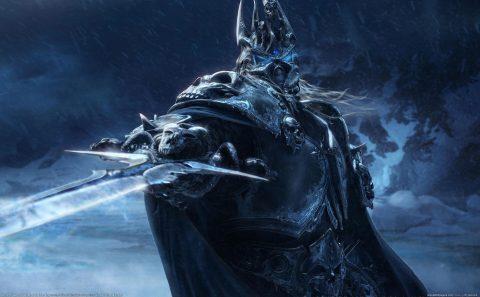 velika slika za pozadinu world of warcraft lich king