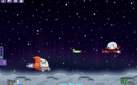 Galakticke macke - igrica za dvoje