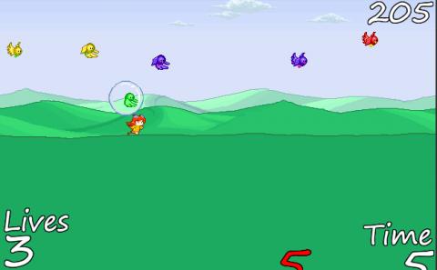 Ptica trkacica - igrice za dvoje